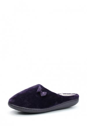 Тапочки Marks & Spencer. Цвет: фиолетовый