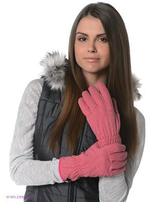Перчатки Adidas. Цвет: розовый