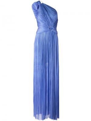 Платье Giada Maria Lucia Hohan. Цвет: синий