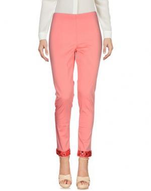 Повседневные брюки SWEET SECRETS. Цвет: лососево-розовый