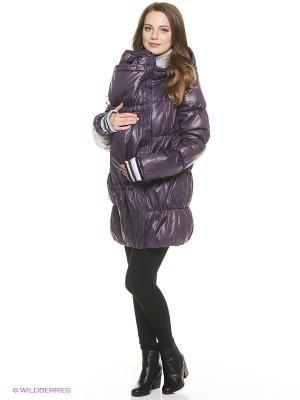 Куртка Mum`s Era. Цвет: сливовый