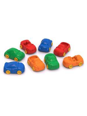 Машинки Ашки Мини (8 шт. в ассорт.) Нордпласт.. Цвет: синий, оранжевый, фиолетовый