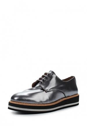 Ботинки La Coleccion. Цвет: серебряный