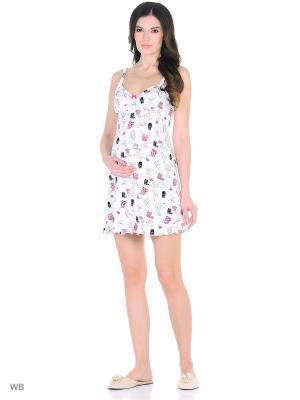 Сорочка женская для беременных и кормящих Hunny Mammy. Цвет: белый, черный, розовый