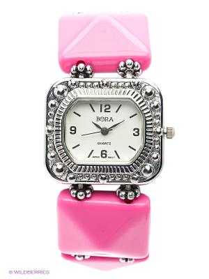Часы Bora. Цвет: розовый