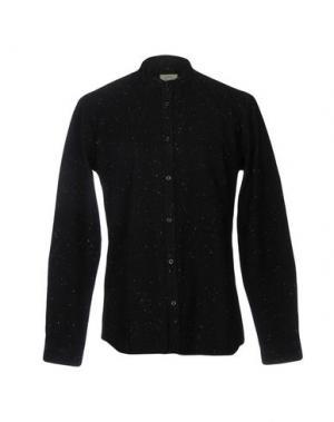 Pубашка SUIT Est. 2004. Цвет: черный