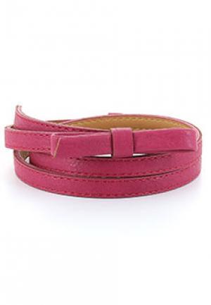 Ремень VIA TORRIANI 88. Цвет: розовый