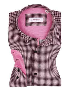 Рубашка MONDIGO. Цвет: бледно-розовый