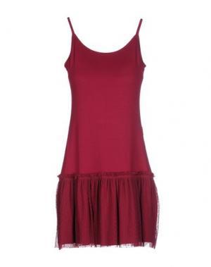 Короткое платье MAMATAYOE. Цвет: пурпурный
