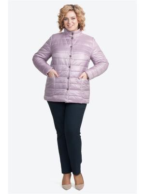 Куртка Modress. Цвет: сиреневый, бледно-розовый, розовый