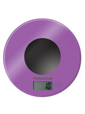 Весы кухонные  MAXIMA МS-067 (Фиолетовый). Цвет: фиолетовый