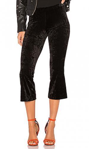 Бархатные брюки pg13 Bailey 44. Цвет: черный