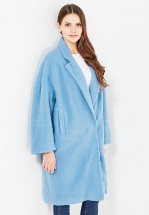 Пальто L1FT. Цвет: голубой