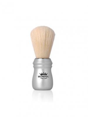 Помазок для бритья MONDIAL. Цвет: серебристый