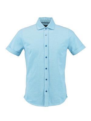 Рубашка Florentino. Цвет: голубой