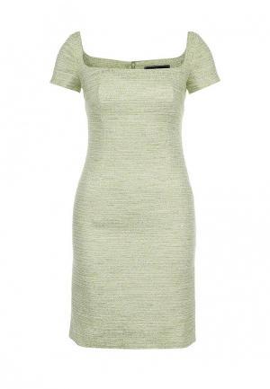 Платье Roccobarocco. Цвет: зеленый