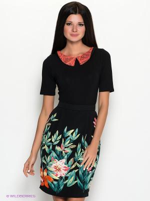Платье SUGARLIFE. Цвет: черный