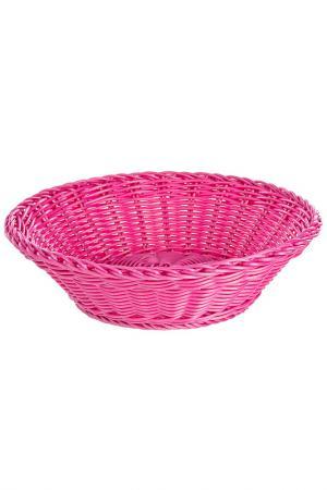 Корзинка для хлеба PANE PARTY Bizzotto. Цвет: розовый