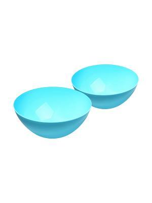 Салатник - 2 шт. Migura. Цвет: голубой