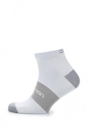 Носки Salomon. Цвет: белый