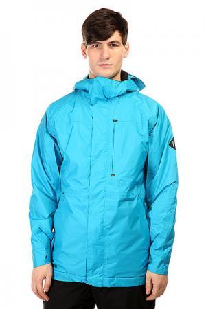 Куртка утепленная  Mb Hostile Jk Antidote Block Burton. Цвет: голубой