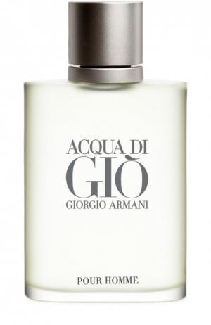 Туалетная вода Acqua Di Gio Giorgio Armani. Цвет: бесцветный