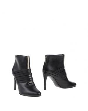 Полусапоги и высокие ботинки RODO. Цвет: черный