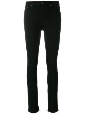 Skinny jeans Toteme. Цвет: чёрный