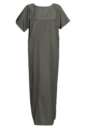 Платье из вискозы 188066 Cyrille Gassiline. Цвет: зеленый