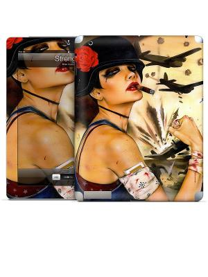 Виниловая наклейка для iPad 2,3,4 Strength-Brian Viveros Gelaskins. Цвет: бежевый, коричневый