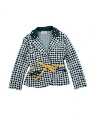 Пиджак MONNALISA. Цвет: зеленый