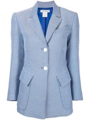 Твидовый пиджак Suitor Bianca Spender. Цвет: синий