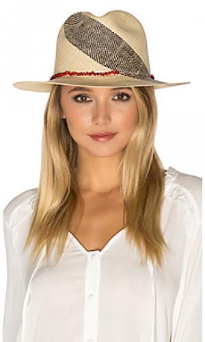 Шляпа dani Valdez. Цвет: ivory
