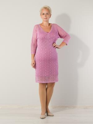 Комплект женский (платье+сарафан), модель Яна Dorothy's Нome. Цвет: сиреневый