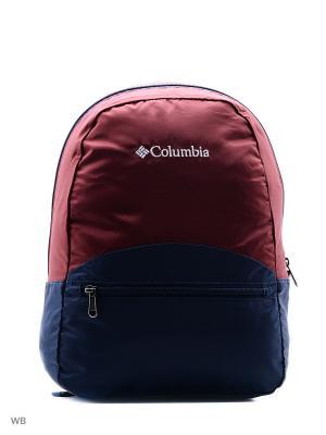 Рюкзак Columbia. Цвет: красный, темно-синий