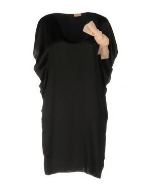 Короткое платье MACRÍ. Цвет: черный