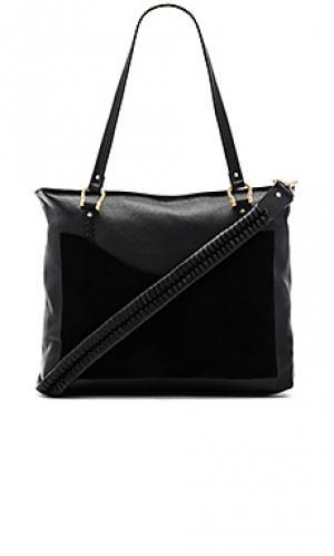 Прошитая сумка weekend escape Sancia. Цвет: черный