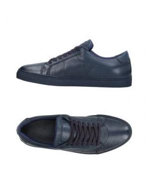 Низкие кеды и кроссовки BARBATI. Цвет: темно-синий