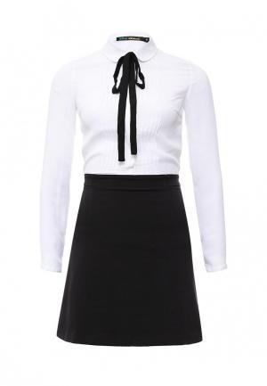 Платье Befree. Цвет: черно-белый
