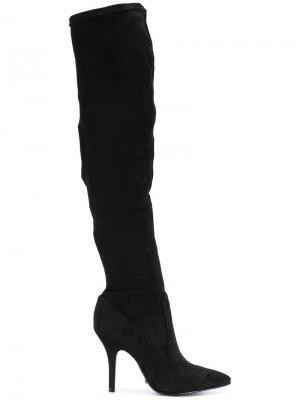 Ботфорты на шпильке Schutz. Цвет: чёрный