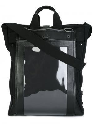 Многофункциональный рюкзак Junya Watanabe Comme Des Garçons Man. Цвет: чёрный