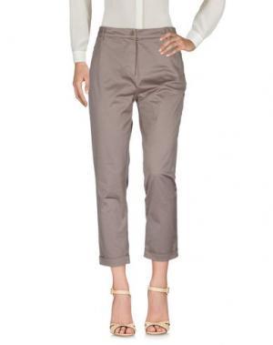 Повседневные брюки DELLA CIANA. Цвет: хаки