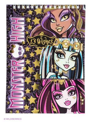 Блокнот Monster High Centrum. Цвет: фиолетовый