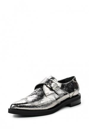 Ботинки McQ Alexander McQueen. Цвет: серебряный