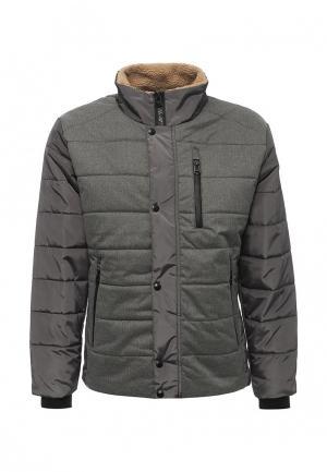 Куртка утепленная Xaska. Цвет: хаки