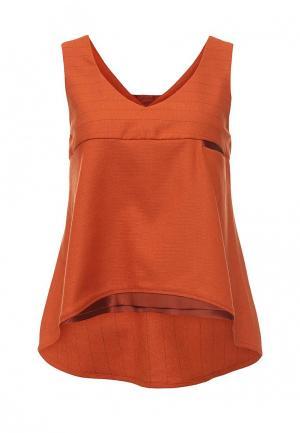 Топ D.VA. Цвет: оранжевый