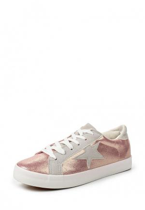 Кеды Sweet Shoes. Цвет: розовый