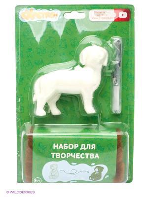 EXPETRO Набор для творчества Собака охотничья Экспетро. Цвет: белый