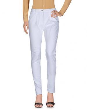 Повседневные брюки CARLA G.. Цвет: белый
