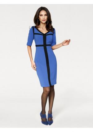 Платье Ashley Brooke. Цвет: королевский синий/черный